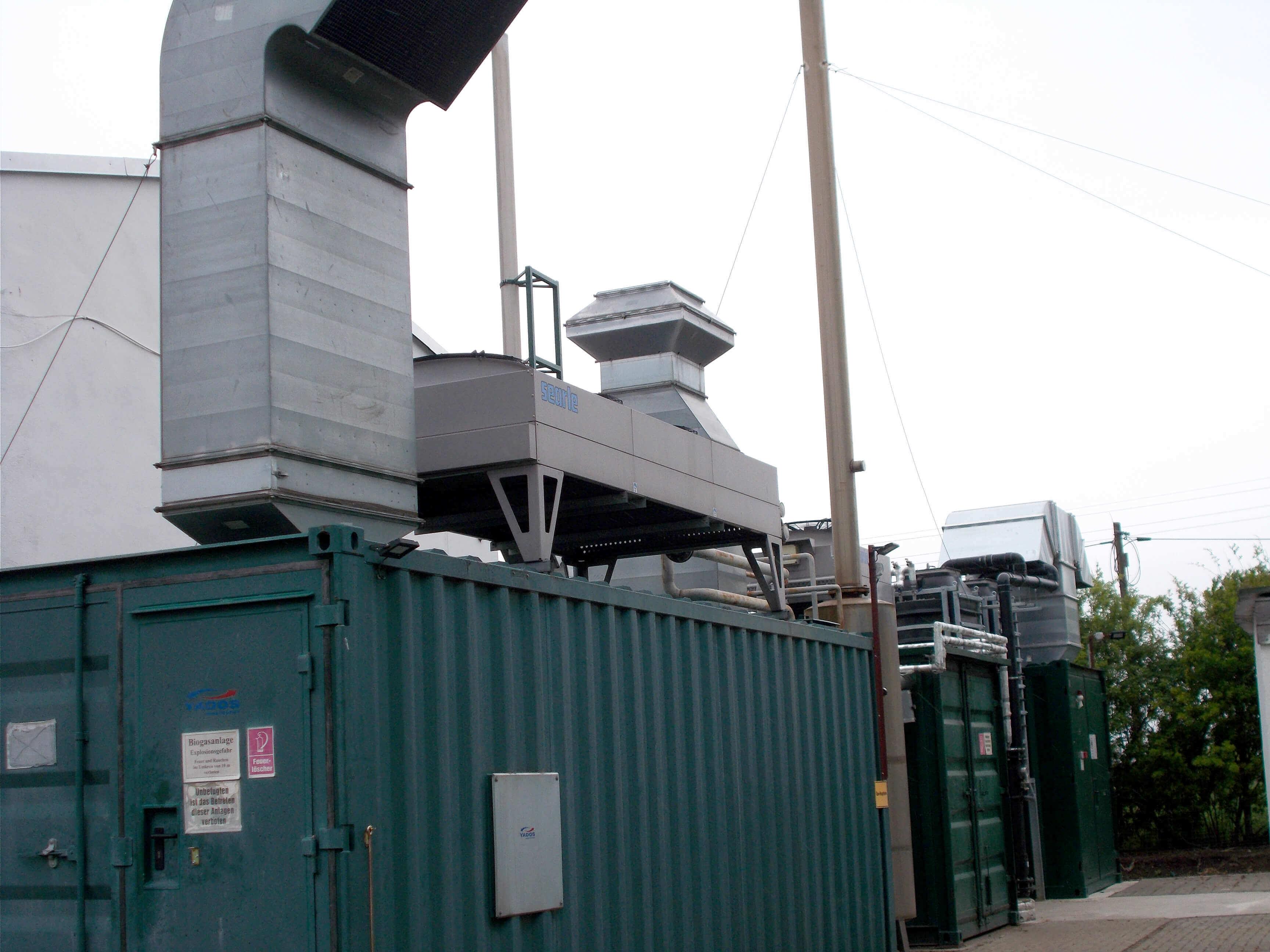 Tischkühler als Containeraufbau | IBAS Industrieberatung Andreas Schulz